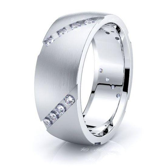 Tess Mens Diamond Wedding Ring