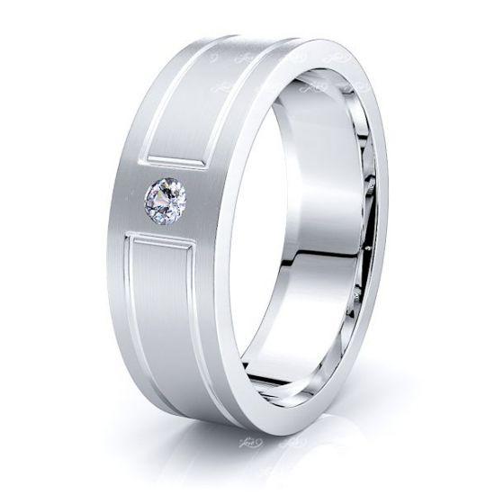 Sloane Mens Diamond Wedding Ring