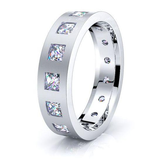 Sylvia Mens Diamond Wedding Band