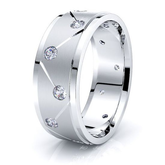 Lilou Mens Diamond Wedding Ring