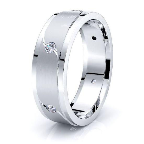 Gabriella Mens Diamond Wedding Ring