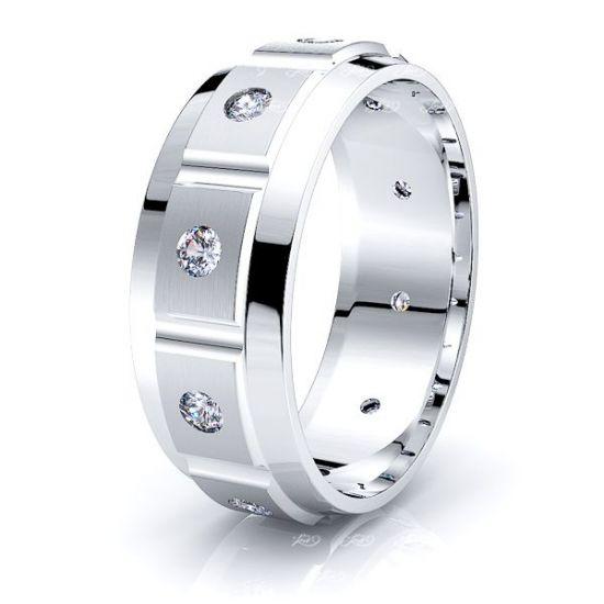 Noelle Mens Diamond Wedding Ring