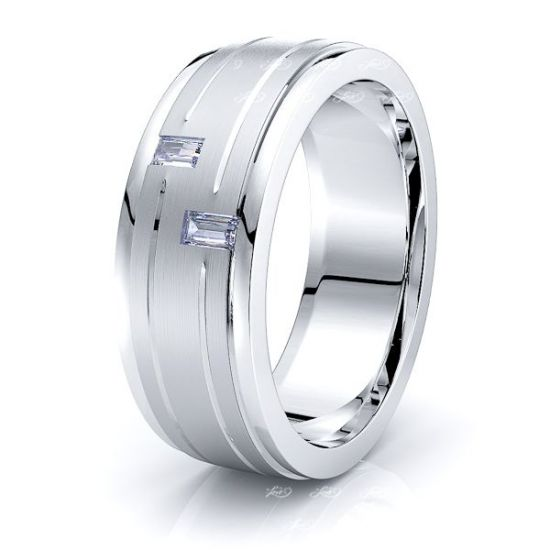 Andromeda Mens Diamond Wedding Ring