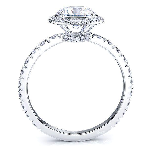 Virginia Halo Enagagement Ring