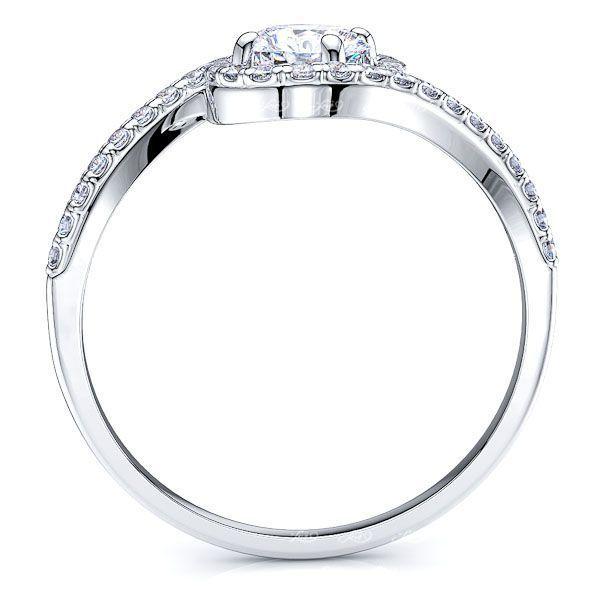 Idaho Halo Enagagement Ring
