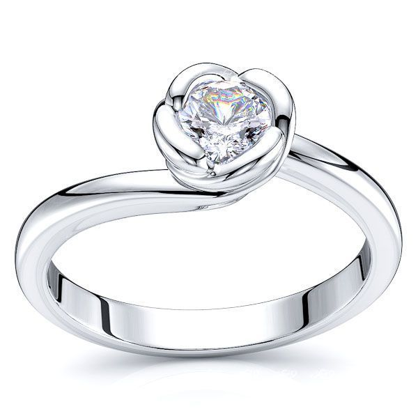 Austin Solitaire Engagement Ring