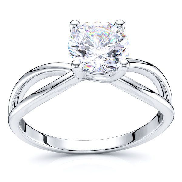 Seattle Infinity Solitaire Engagement Ring