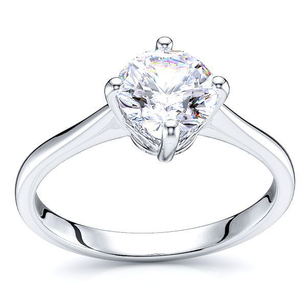 Cleveland Heart Solitaire Engagement Ring
