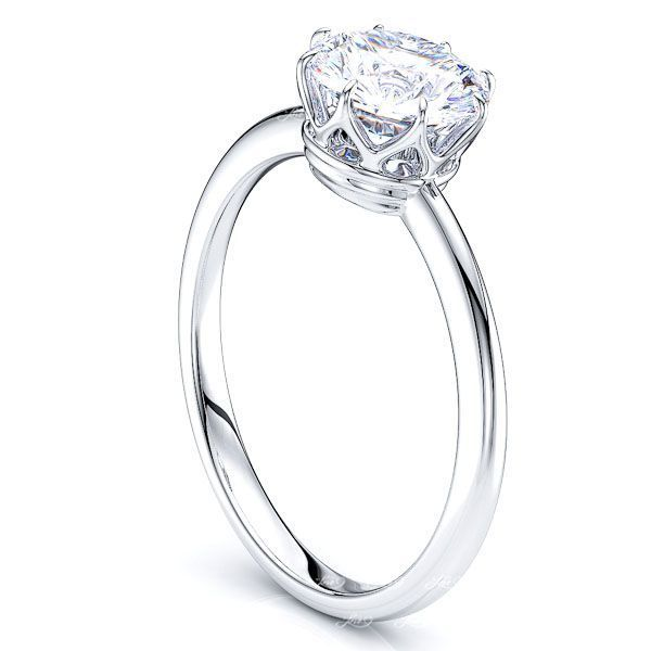 Cincinnati Crown Solitaire Engagement Ring