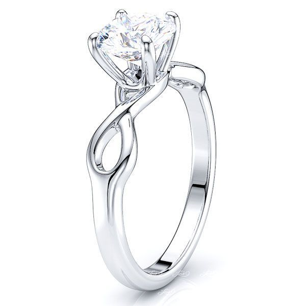 New York Infinity Solitaire Engagement Ring