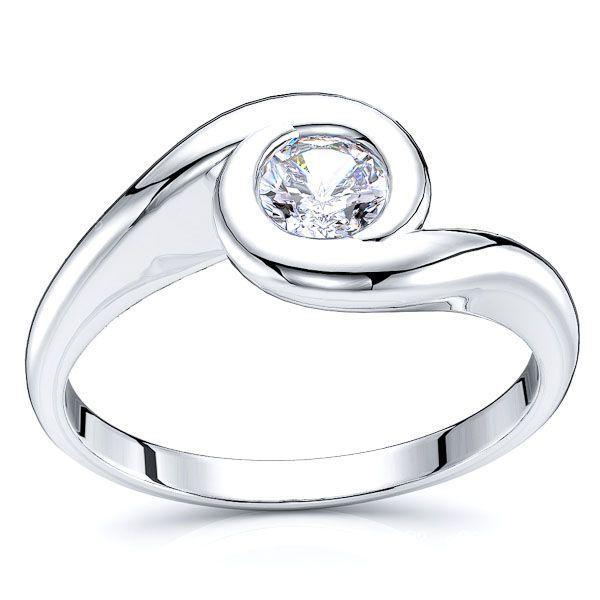 Phoenix Solitaire Engagement Ring