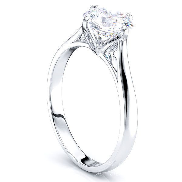 Detroit Cathedral Solitaire Engagement Ring