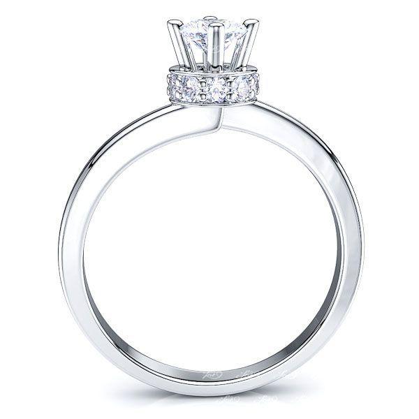 Memphis Solitaire Engagement Ring
