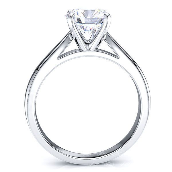 Tribeca Solitaire Engagement Ring