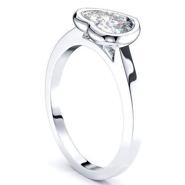 Miami Solitaire Engagement Ring