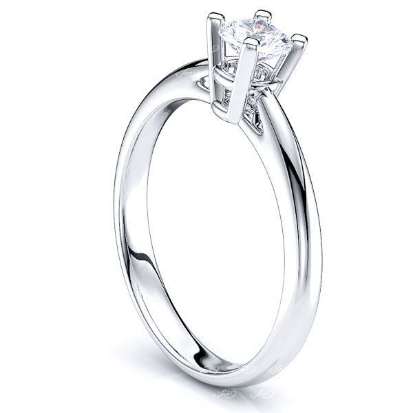 Buffalo Solitaire Engagement Ring