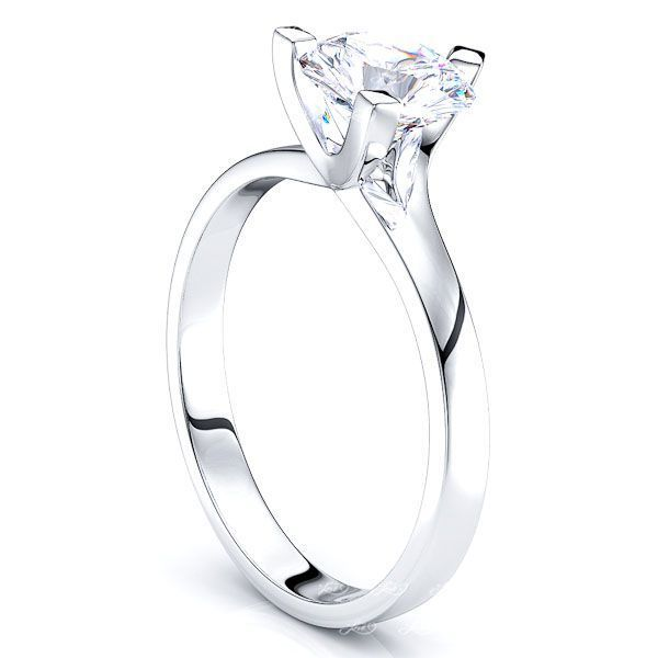 Solitaire Los Angeles Engagement Ring
