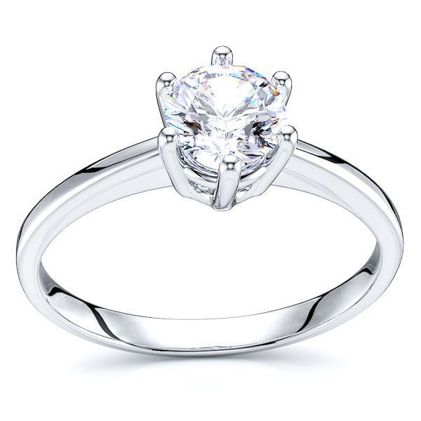 Solitaire Durham Engagement Ring