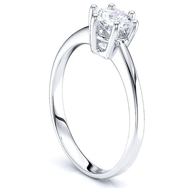 Solitaire Durham Engagement Ring