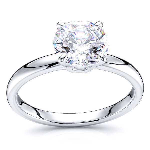 Solitaire Yonkers Engagement Ring