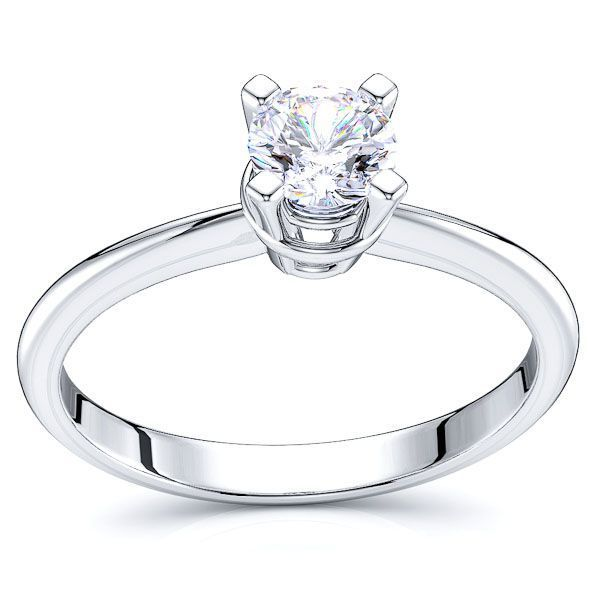 Solitaire Boston Engagement Ring