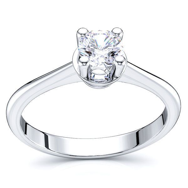 Solitaire Omaha Engagement Ring