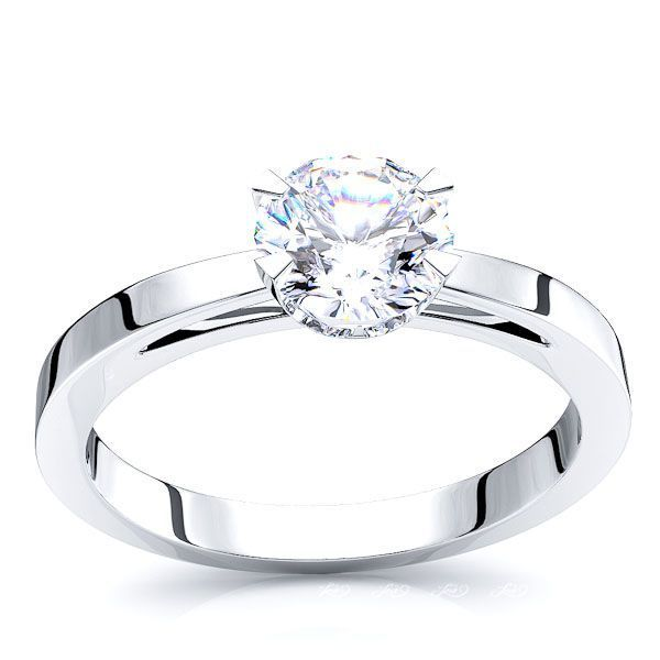 Solitaire Aurora  Engagement Ring