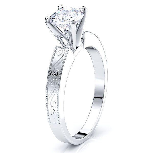 Solitaire Louisville Antique Engagement Ring