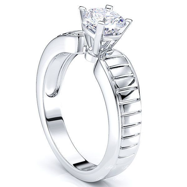 Solitaire Chicago Engagement Ring