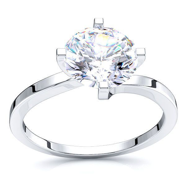 Bowery Solitaire Engagement Ring