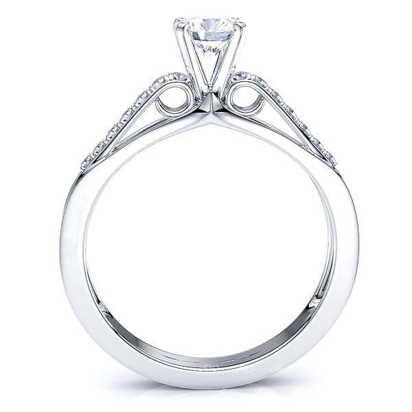 Fredericton Pave Set Enagagement Ring