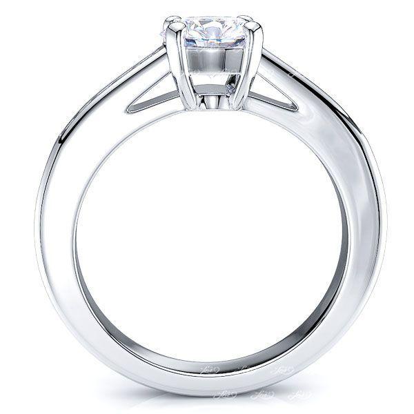 Regina Pave Set Enagagement Ring