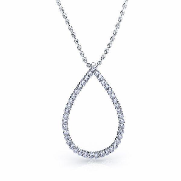 Rosella Diamond Drop Pendant