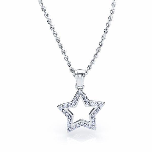 Eustacia Star Diamond Pendant