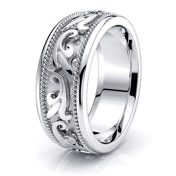 Matthew Antique Handmade Mens Wedding Ring