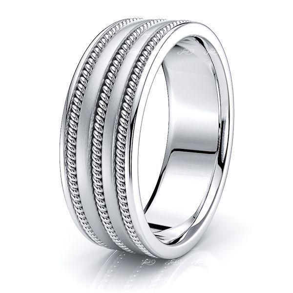 Ian Mens Hand Braided Wedding Ring