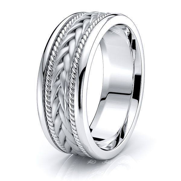 Colin Hand Woven Mens Wedding Ring