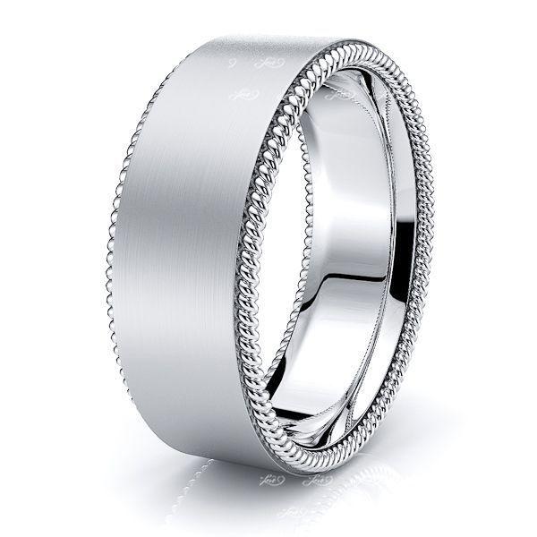 Callum Hand Woven Mens Wedding Ring