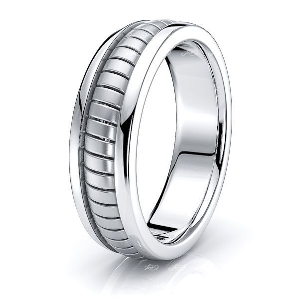 Elias Hand Woven Mens Wedding Ring