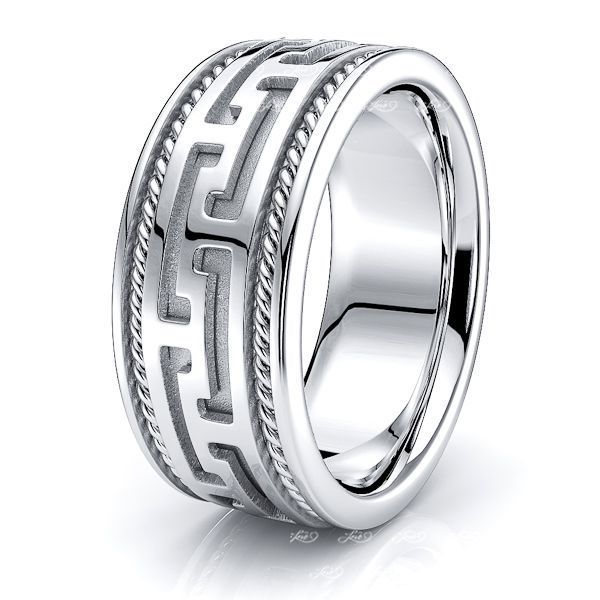 Harry Mens Hand Braided Wedding Band
