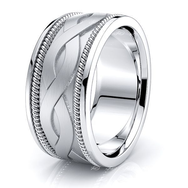 Cyrus Mens Hand Braided Wedding Ring