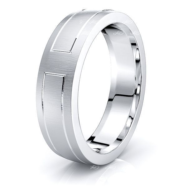Xanthe Solid 6mm Mens Wedding Band