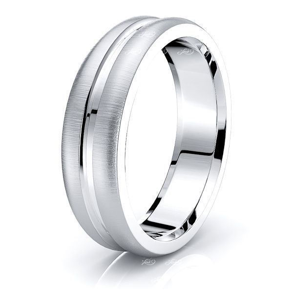 Remy Solid 6mm Mens Wedding Ring