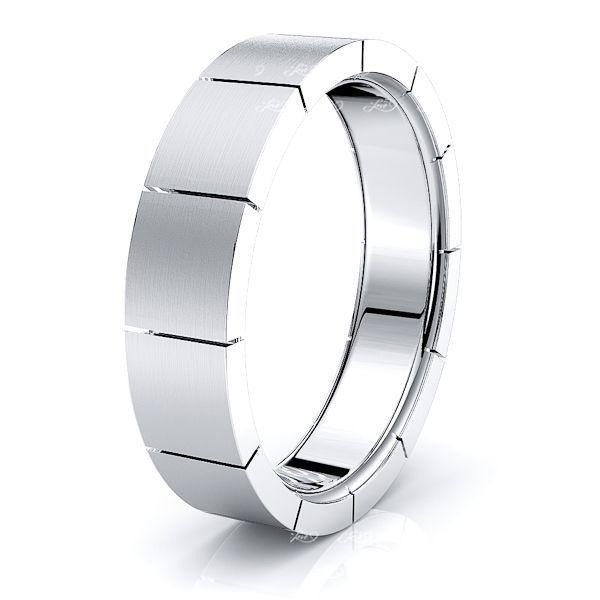 Philippa Solid 6mm Mens Wedding Ring