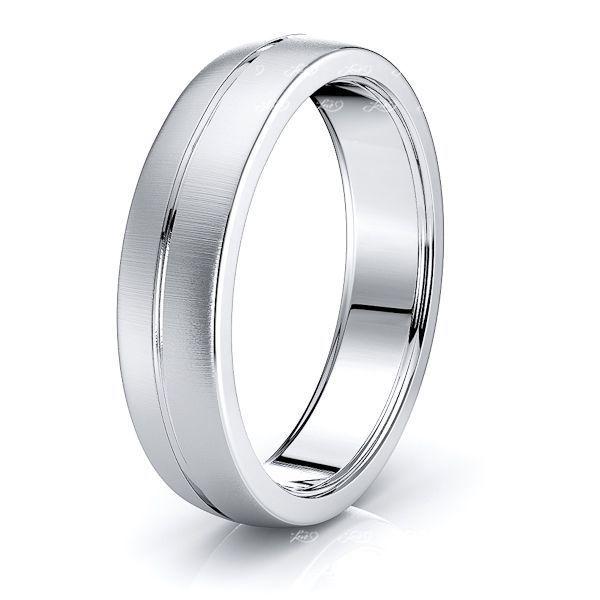 Maude Solid 6mm Mens Wedding Ring