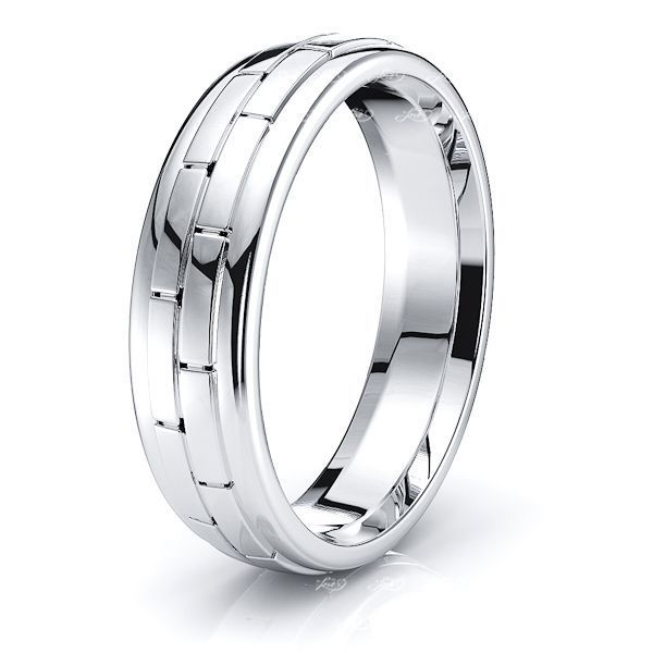 Irene Solid 6mm Mens Wedding Band