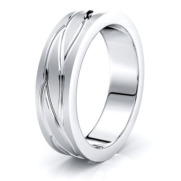 Francine Solid 7mm Mens Wedding Band
