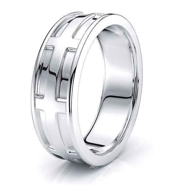 Tamsin Solid 7mm Mens Wedding Ring