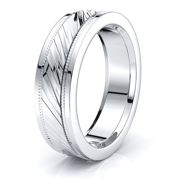Odessa Solid 6mm Mens Wedding Band
