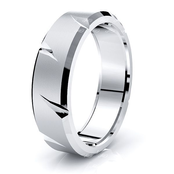 Rory Solid 6mm Mens Wedding Band